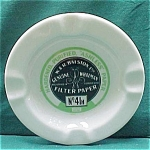 Filter Paper Company Advertising Syracuse China Ashtray