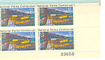 #1452 - 8 Cent Performance Wolf Trap Farm Plate Block