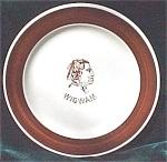 Wigwam Restaurant Platter- H Laughlin China