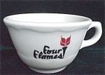 Four Flames Restaurant Ware Cup- Syracuse China