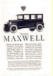 1923 Maxwell Motors Ad