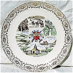 Oregon Souvenir Plate