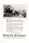 1923 Willys Knight Automobile Ad