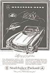 1958 Mercedes 300 Sl Roadster Ad