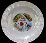 Atlantic City New Jersey Souvenir Dish