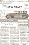 1926 Stutz Automobile Ad