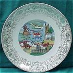 Missouri Souvenir Plate