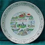 Montana Souvenir Plate