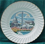 Washington Souvenir China Plate