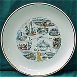 California Souvenir Plate