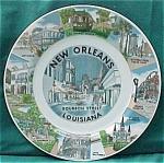 Bourbon Street New Orleans Louisiana Souvenir Plate