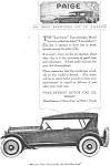 1920 Paige Larchmont Automobile Ad