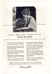 1923 Packard Automobile Ad