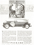 1927 Packard Automobile Ad