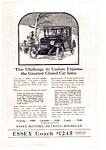 1923 Essex Closed Car Ad