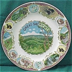 Great Smokey Mountains Souvenir Plate