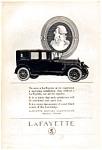1923 Lafayette Motor Car Ad