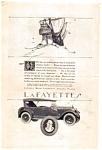 Lafayette Motors Corporation Ad 1923