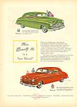 Kaiser Frazer Automobile Ad 1946