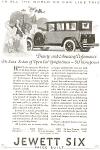 1924 Jewett Six Automobile Full Line Ad