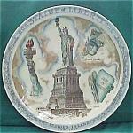 Statue Of Liberty Bedloes Island N Y Souvenir Plate