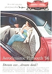 1956 Plymouth Belvedere Sport Coupe Ad
