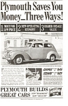 Plymouth Saves You Money Ad 1939