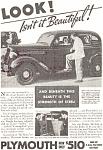 Plymouth Isn't It Beautiful Ad 1935
