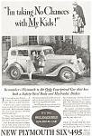 Plymouth No Chances Ad 1934