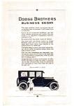 1923 Dodge Business Sedan Ad