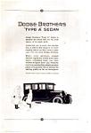1923 Dodge Type A Sedan Ad