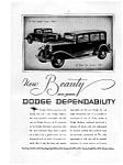 Dodge Coupe And Sedan Ad Feb 1931