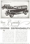 1931 Dodge 8 Coupe And Sedan 6 Ad