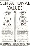 Dodge 6 And 8 Sensational Values Ad