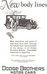 Dodge New Body Lines Ad 1927