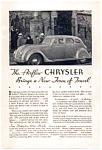 1934 Chrysler Airflow Ad