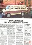 1983 Dodge Ram Wagons Ad