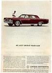1962 Lincoln Continental Ad