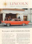 1957 Lincoln Landau Ad