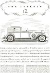 1932 Lincoln V-12 Ad