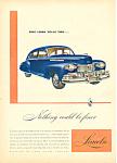 Lincoln Automobile Ad 1946