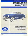 Ford Cars 1949/1951 Restoration Parts Catalog