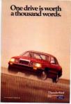 1985 Thunderbird Ad
