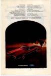 1970 Thunderbird Ad