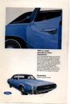1967 Four Door Thunderbird Ad Blue