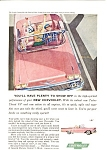 1958 Chevrolet Convertible Ad