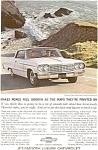 1964 Chevrolet Impala Sports Coupe Ad