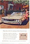 1960 Pontiac Bonneville Convertible Ad