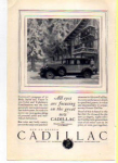 Cadillac Motor Car Ad 1927