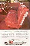 1964 Cadillac 2-door Hardtop Interior Ad